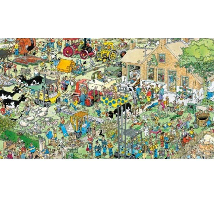 Jan van Haasteren – Boerderijbezoek Puzzel 1000 Stukjes
