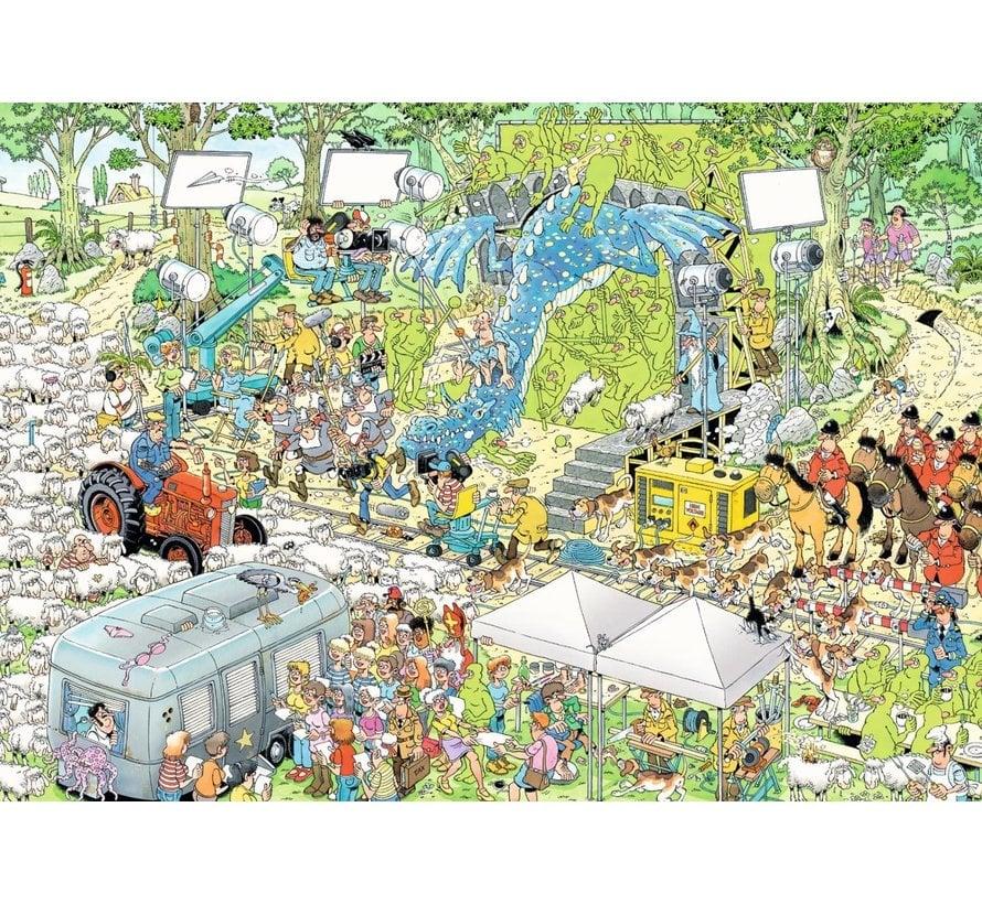 Jan van Haasteren – De Filmset Puzzel 1000 Stukjes