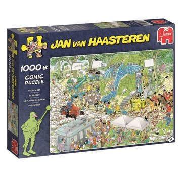 Jumbo Jan van Haasteren – The Film Set Puzzle 1000 Pieces