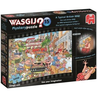 Jumbo Wasgij Mystery 15 British BBQ Puzzle 1000 pieces