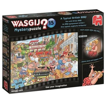 Jumbo Wasgij Mystery 15 British BBQ Puzzle 1000 pieces