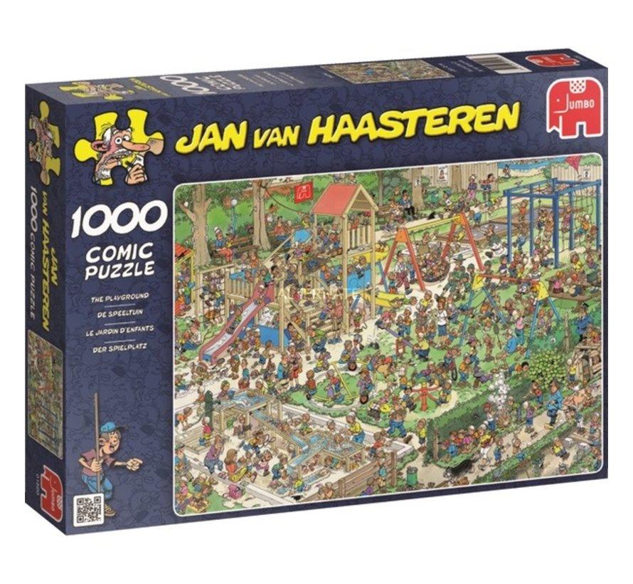 Jan van Haasteren – De Speeltuin Puzzel 1000 Stukjes