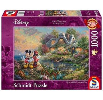 Schmidt Puzzle Puzzel Disney Mickey & Minnie 1000 Stukjes