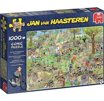 Jumbo Jan van Haasteren – World Championships Cyclocross Puzzle 1000 Pieces