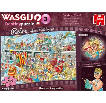 Jumbo Wasgij Destin 3 s'enlisent pièces de puzzle passé 1000