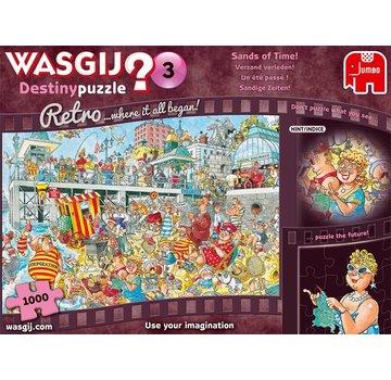 Jumbo Wasgij Schicksal 3 Stück Vergangenheit Puzzle verzetteln 1000