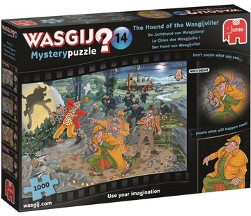 Jumbo Wasgij Mystery 14 Foxhound Puzzle pieces 1000