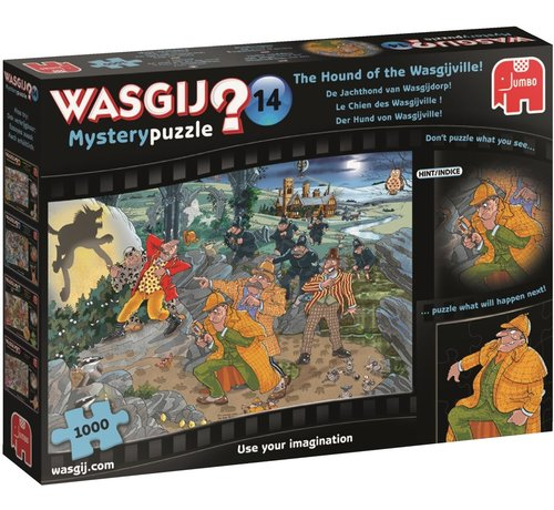 Jumbo Wasgij Mystery 14 The Hound of Puzzle 1000 Pieces