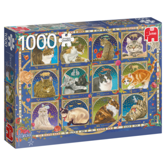 Jumbo Franciens Katten Horoscope Puzzel 1000 Stukjes
