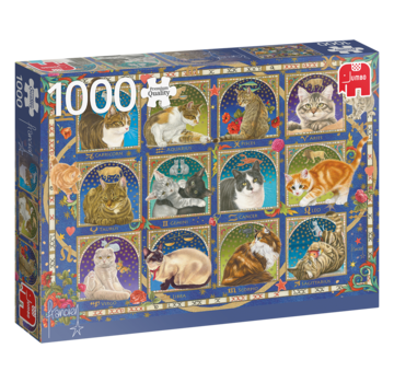 Jumbo Franciens Cats 1000 Horoscope __gVirt_NP_NNS_NNPS<__ Pièces Puzzle