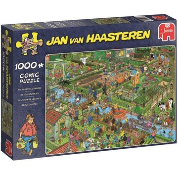 Jumbo Jan van Haasteren – The Vegetable Garden Puzzle 1000 Pieces