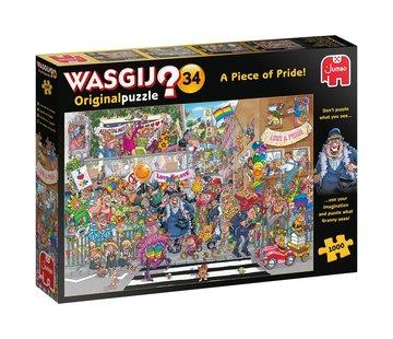 Jumbo Wasgij Original 34 A Piece of Pride Puzzle pieces 1000
