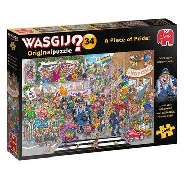 Jumbo Wasgij d'origine 34 Un morceau de fierté pièces de puzzle 1000