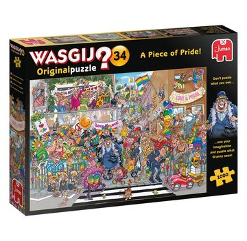 Jumbo Wasgij Original 34 A Piece of Pride Puzzle pieces 1000