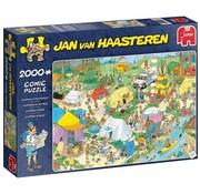 Jumbo Jan van Haasteren –Kamperen in het Bos 2000 Stukjes