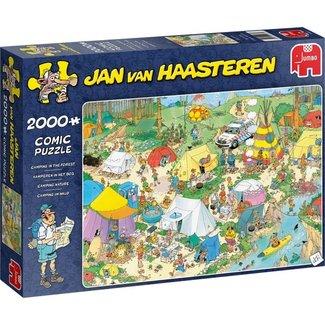 Jan van Haasteren Jan van Haasteren – Kamperen in het Bos Puzzel 2000 Stukjes
