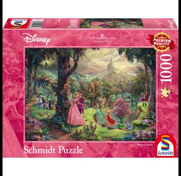 Schmidt Puzzle Puzzel Disney Doornroosje 1000 Stukjes
