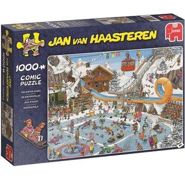 Jumbo Jan van Haasteren – De Winterspelen Puzzel 1000 Stukjes