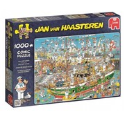 Jumbo Jan van Haasteren – Tall Ship Chaos Puzzle 1000 Pieces
