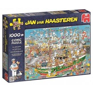 Jan van Haasteren Jan van Haasteren – Tall Ship Chaos Puzzel 1000 Stukjes