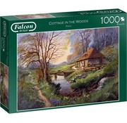 Falcon Cottage in the Woods Puzzel 1000 Stukjes
