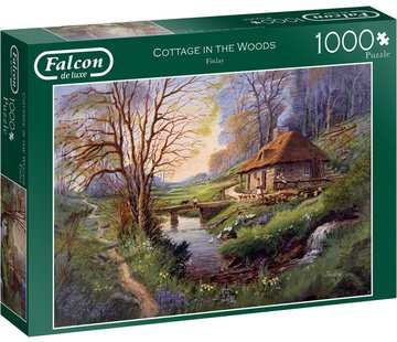 Falcon Cottage in the Woods 1000 Piece Jigsaw Puzzle