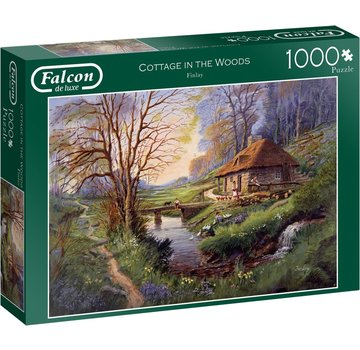 Falcon Cottage in the Woods Puzzle 1000 Pieces