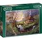 Cottage in the Woods Puzzel 1000 Stukjes
