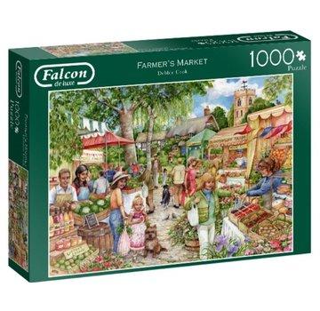 Falcon Farmers Market 1000 Piece Jigsaw Puzzle
