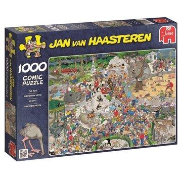 Jumbo Jan van Haasteren – Dierentuin Artis Puzzel 1000 Stukjes