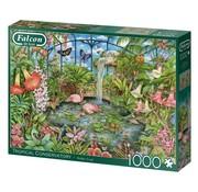 Falcon Tropical Conservatory Puzzel 1000 Stukjes