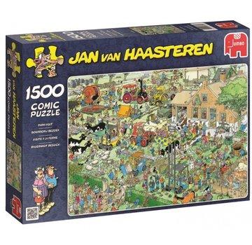 Jumbo Jan van Haasteren - Farm Visit 1500 Puzzle Pieces