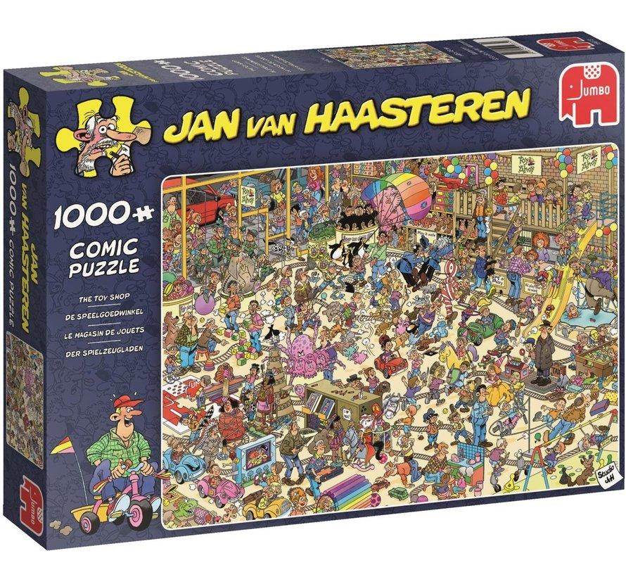 Jan van Haasteren – De Speelgoedwinkel Puzzel 1000 Stukjes