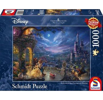 Schmidt Puzzle Puzzle Disney La Belle et la Bête 1000 Pièces
