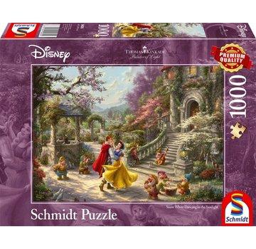 Schmidt Puzzle Disney Pièces Puzzle Blanche Neige 1000