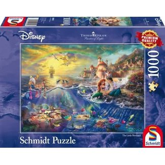 Schmidt Puzzle Disney Little Mermaid Puzzle 1000 Stück