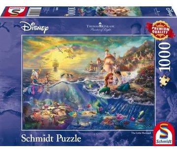 Schmidt Puzzle Puzzel Disney Kleine Zeemeermin 1000 Stukjes