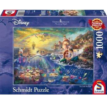 Schmidt Puzzle Disney Petite Sirène Puzzle 1000 Pièces