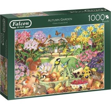 Falcon Autumn Garden 1000 Piece Jigsaw Puzzle