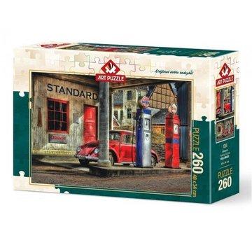 Art Puzzle Fueling Station Puzzel 260 Stukjes
