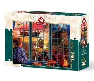 Art Puzzle The World in Me Puzzel 260 Stukjes