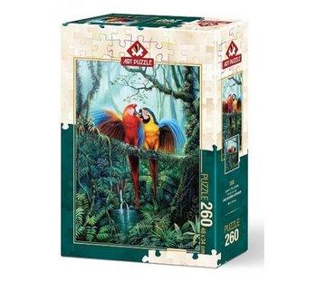 Art Puzzle Love in the Jungle Puzzel 260 Stukjes