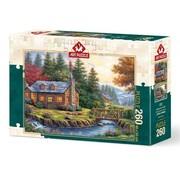 Art Puzzle Automne sur les collines 260 Puzzle Pieces