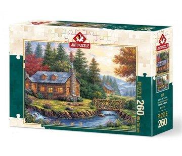 Art Puzzle Autumn on the Hills Puzzel 260 Stukjes