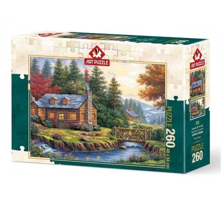 Automne sur les collines 260 Puzzle Pieces