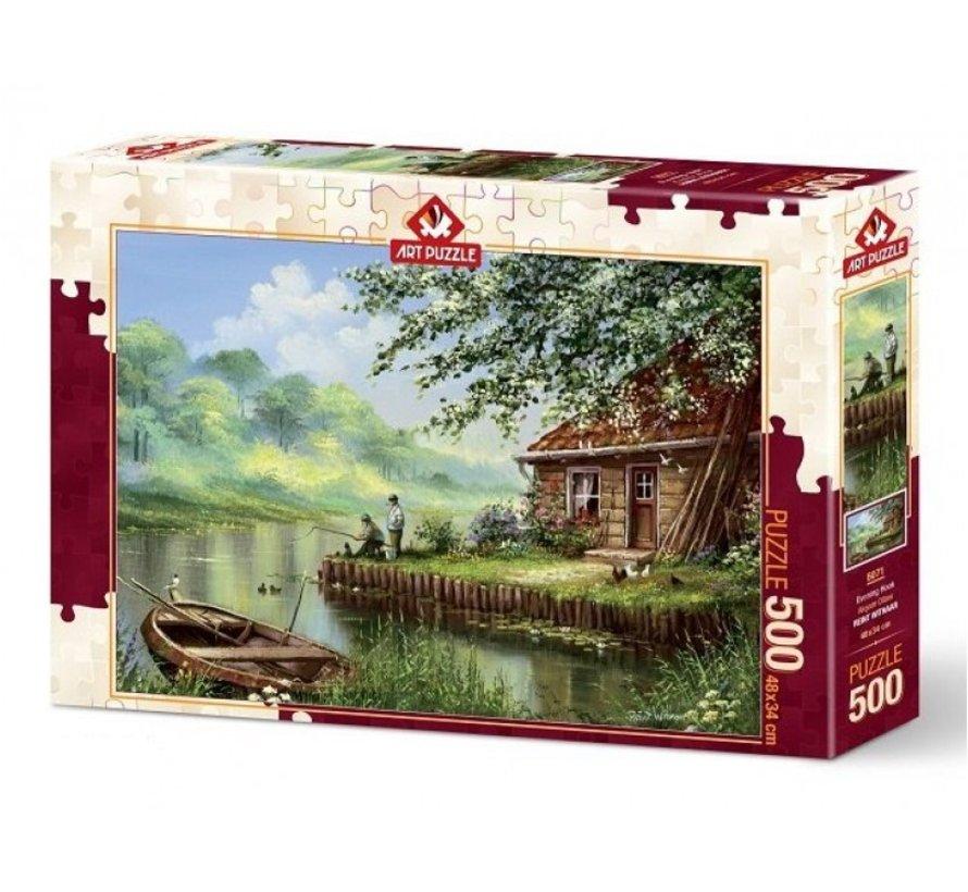 Abend Haken 500 Puzzle Pieces