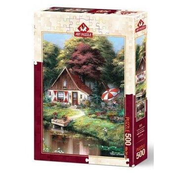 Art Puzzle Dimanche Petit déjeuner 500 Puzzle Pieces