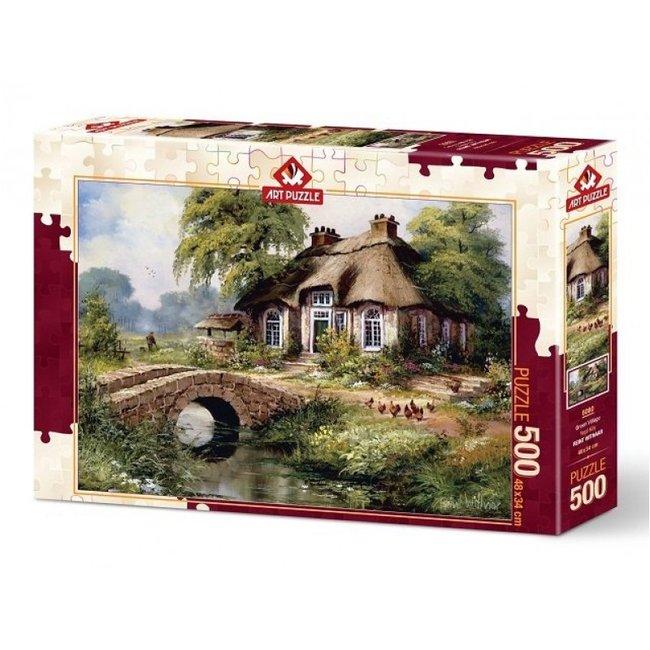 Art Puzzle Green Village 500 Puzzle Pieces