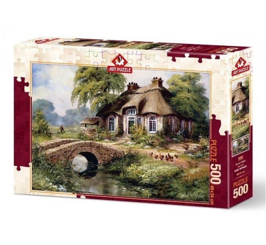 Green Village Puzzel 500 Stukjes