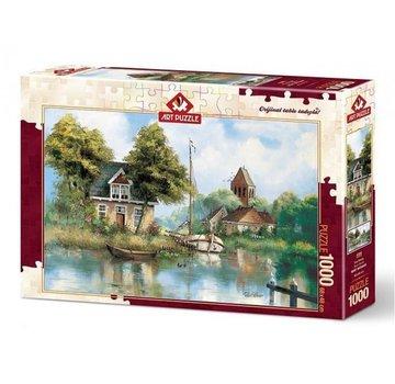 Art Puzzle Back Home Puzzel 1000 Stukjes